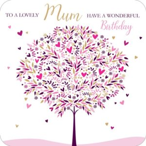 Mum – birthday card