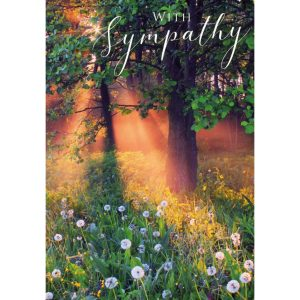 Greeting card – With sympathy