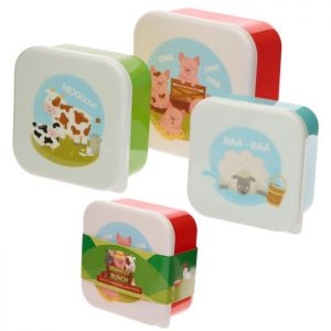 Set of 3 Lunch/snack Boxes – Bramley Farm