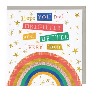 Hope You Feel Brighter and Better Card