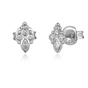 Trinity stud earrings – (silver plated)