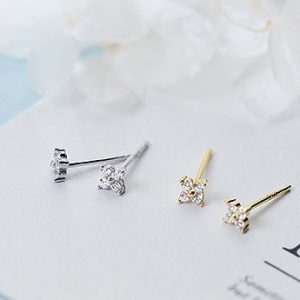 Twinkle stud earrings – (gold plated)