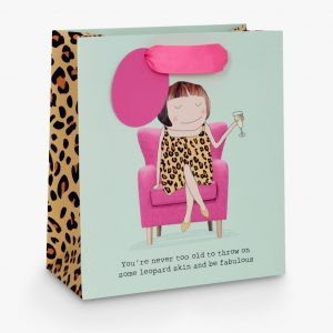 Rosie Made A Thing Gift Bag, Leopard