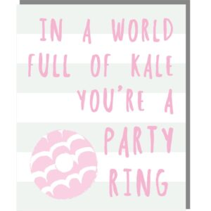 PARTY RING – mini card