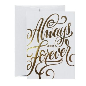 Always & Forever – card