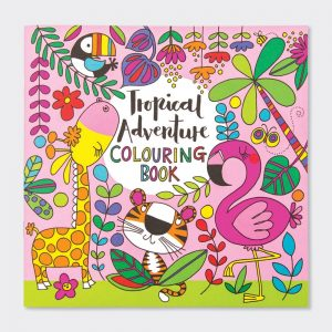 Children's colouring book – tropical