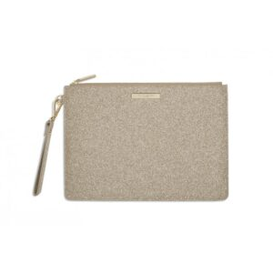 STARDUST CLUTCH BAG | SPARKLY CHAMPAGNE