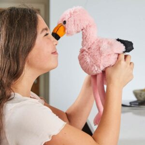 Warmies® Flamingo microwavable teddy