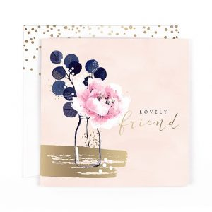 Lovely friend greeting card