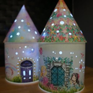 Light Up Fairy House – Shelly Delphine – Mermaid