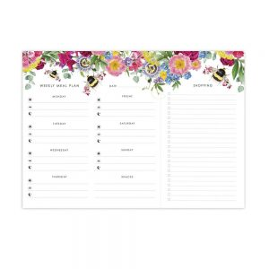 Botanical Bumble Bee – Meal Planner