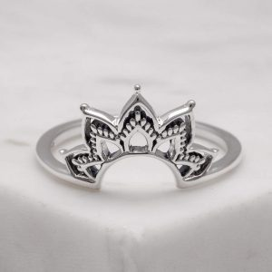 Autumn Dawn ring – Sterling silver (size 7)