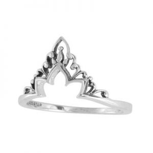 Existence ring – Sterling silver (size 7)