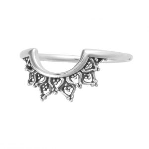 Daybreak ring – Sterling silver (size 7)