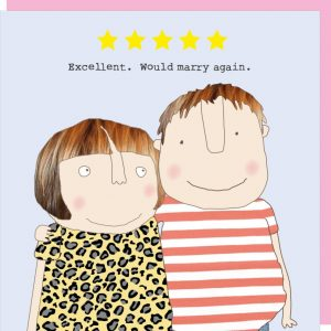 Excellent. Would marry again – card