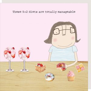 Totally Manageable 5:2 Diet – card