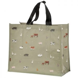 Willow Farm – Recycled Plastic Bottles Reusable Shopping Bag
