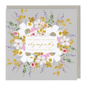 Deepest and Heartfelt Sympathy Card