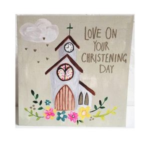 On Your Christening Day – card