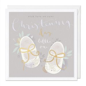 Christening Day Large Luxury Greeting Card
