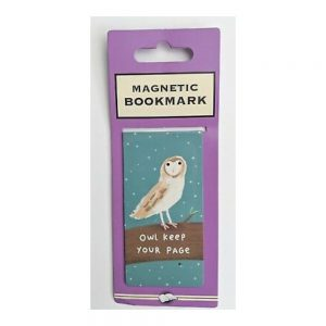 Owl Keep Your Page – magnetic bookmark