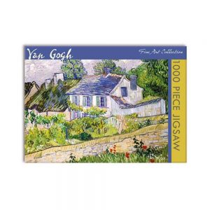 Van Gogh, House at Auvers – Jigsaw puzzle (1000 pieces)